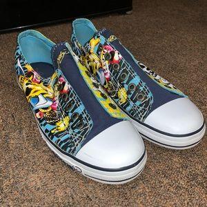 Ed Hardy Converse Sneakers